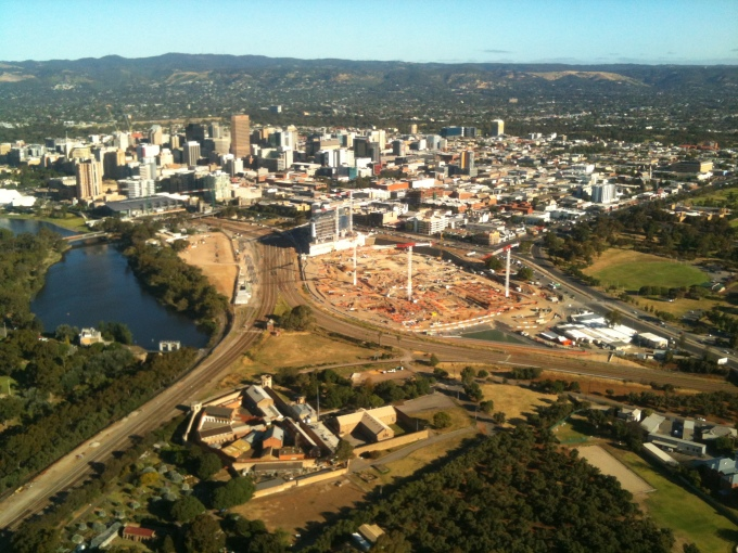 Big Site, Big Cranes, Big Change