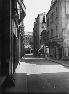 Bank Street, circa 1937 (Adelaide City Council Archives)